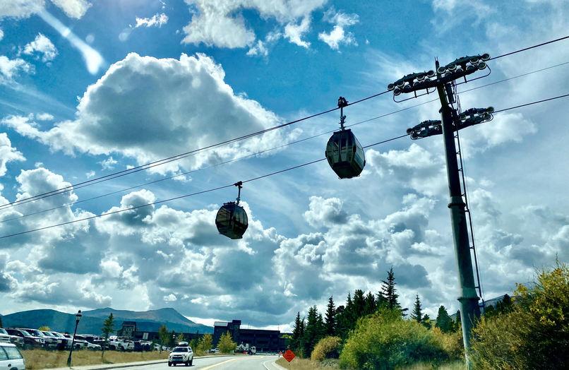 Breck free gondola ride