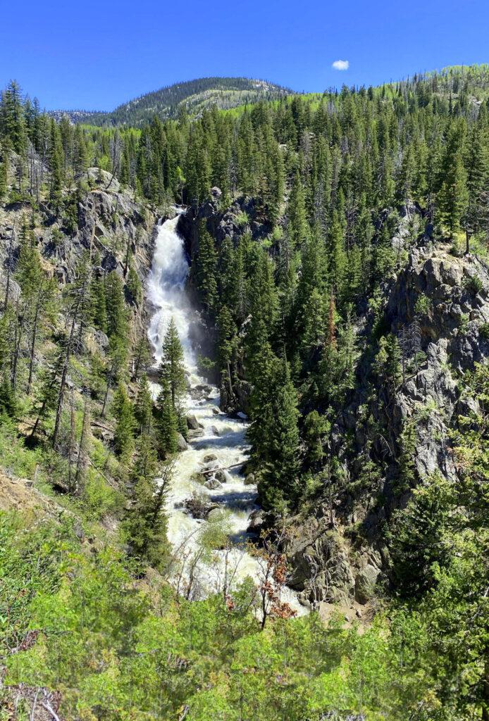 Fish Creek Falls in Steamboat Springs