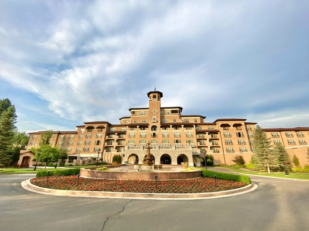 Broadmoor main entrance