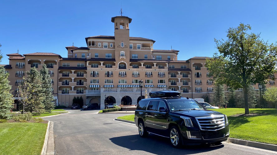 Broadmoor to denver car service